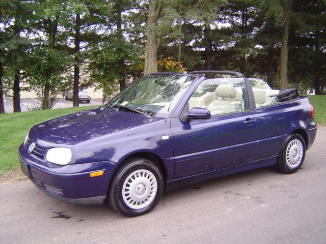 2001 Volkswagen Cabrio GL for Sale in Leesburg, Virginia Classified | AmericanListed.com