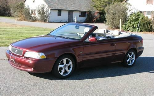 2001 volvo c70 ht convertible excellent cond for sale in ashland massachusetts classified. Black Bedroom Furniture Sets. Home Design Ideas