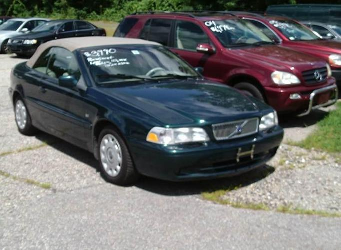 2001 volvo c70 convertible for sale