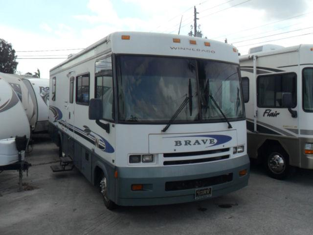 2001 winnebago brave 30w motor home class a for sale in for Motor home class a