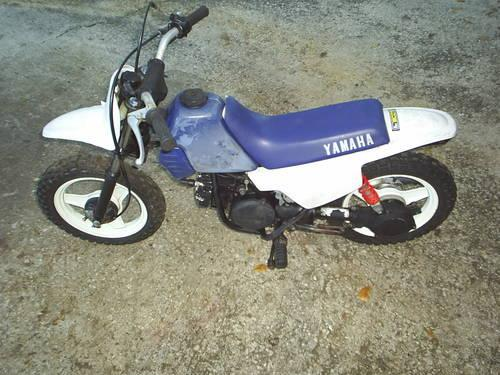 2001 Yamaha PW 50 Automatic Mini-bike Motorcycle