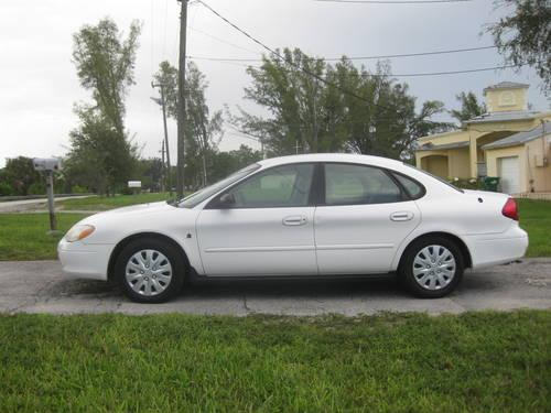 2001 ford taurus ffv flex fuel vehicle city owned fleet maintained for sale in miami. Black Bedroom Furniture Sets. Home Design Ideas