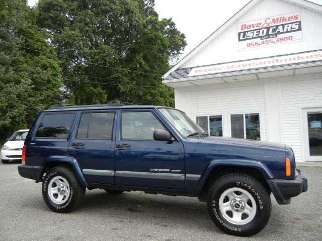 2001 jeep cherokee sport 4wd for sale in bridgeton new jersey. Cars Review. Best American Auto & Cars Review