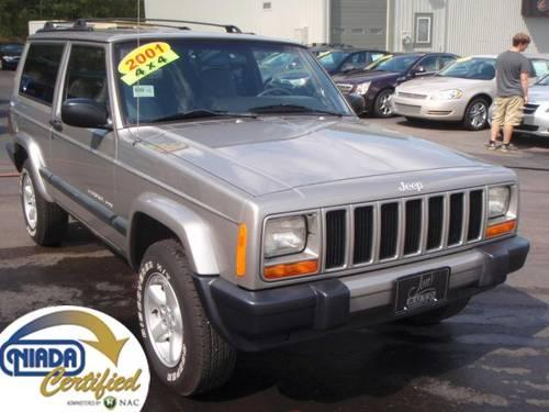 2001 jeep cherokee sport pewter auto 71k mi for. Black Bedroom Furniture Sets. Home Design Ideas