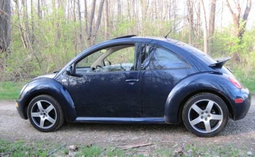 2001 Volkswagen Beetle 1.8 Turbo GLS ? Automatic - Dark Blue - Spoiler ...