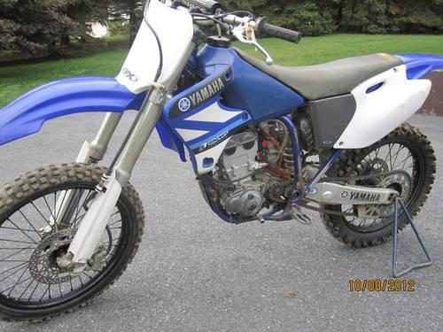 2001 yamaha yz250f 4stroke for sale in bloserville for Yamaha 250 four stroke