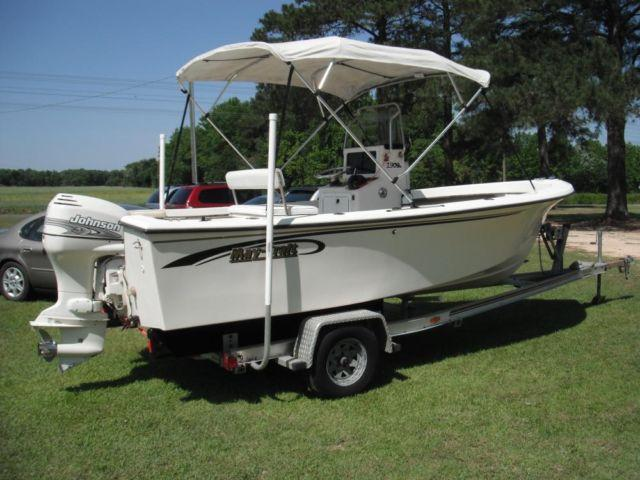 2002 19 Ft Maycraft Boat And Trailer With 90 Hp Johnson