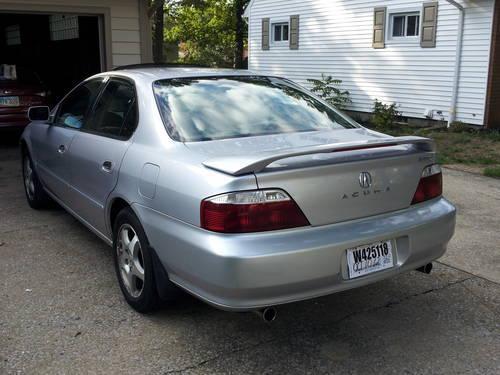 2001 Acura Tl 3 2 >> 02 Acura Tl Value