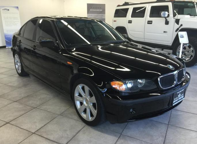 2002 bmw 325i 4dr black loaded very clean sport pkg. Black Bedroom Furniture Sets. Home Design Ideas