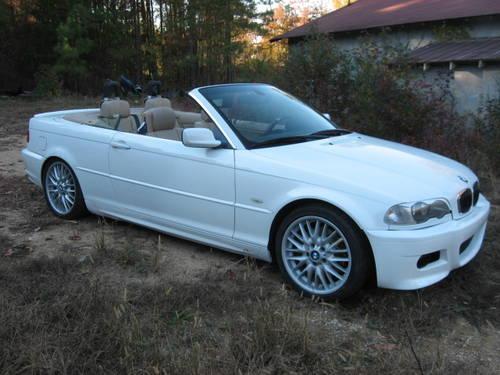 2002 bmw 330 ci convertible white auto 116k mi for sale in warrenton north carolina classified. Black Bedroom Furniture Sets. Home Design Ideas