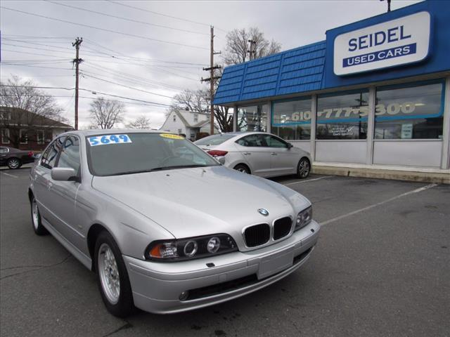 2002 BMW 5 Series 525i 525i 4dr Sedan