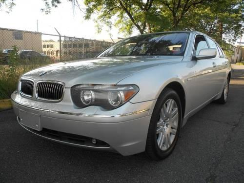 2002 bmw 7 series sedan 745li for sale in hasbrouck heights new jersey classified. Black Bedroom Furniture Sets. Home Design Ideas