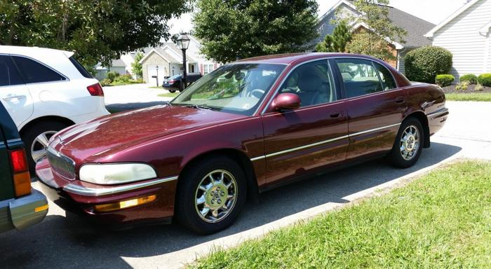 2002 buick park avenue for sale in frankfort kentucky. Black Bedroom Furniture Sets. Home Design Ideas