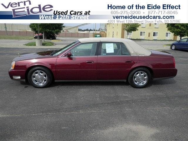 2002 cadillac deville for sale in sioux falls south dakota classified. Black Bedroom Furniture Sets. Home Design Ideas