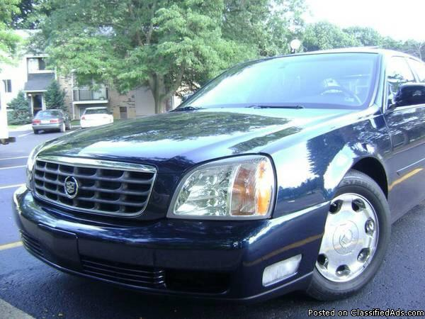 2002 cadillac deville dhs for sale in jackson michigan classified. Black Bedroom Furniture Sets. Home Design Ideas