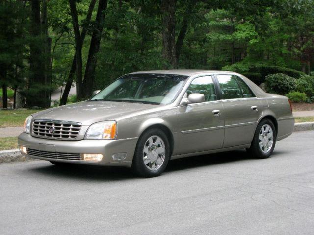 2002 cadillac deville dts mint condition clean carfax beautiful for sale in holliston. Black Bedroom Furniture Sets. Home Design Ideas