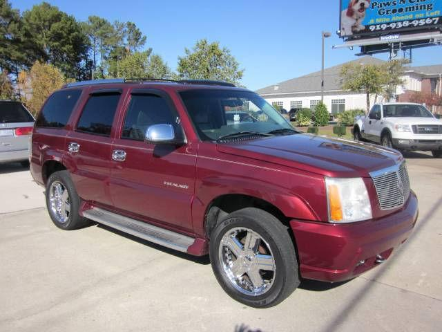 2002 cadillac escalade for sale in smithfield north carolina classified. Black Bedroom Furniture Sets. Home Design Ideas