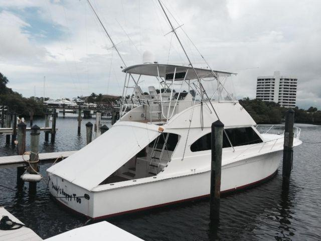 2002 cavileer egg harbor sport fish 53 39 for sale in west for Sport fishing boats for sale by owner