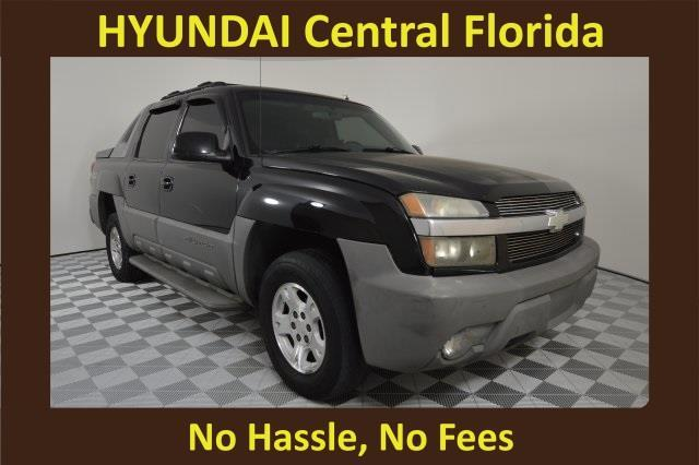 2002 Chevrolet Avalanche 1500 4dr 1500 4WD Crew Cab SB