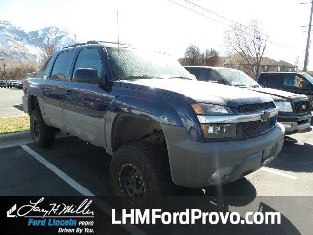 2002 Chevrolet Avalanche 1500 4dr 1500 4wd Crew Cab Sb For