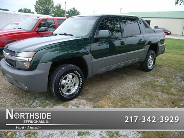 2002 Chevrolet Avalanche 1500 Base Effingham Il For Sale