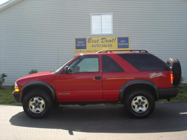 2002 chevrolet blazer ls for sale in warsaw indiana classified. Black Bedroom Furniture Sets. Home Design Ideas
