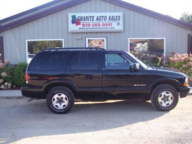 2002 chevrolet blazer ls for sale in redgranite wisconsin classified. Black Bedroom Furniture Sets. Home Design Ideas