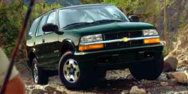 2002 Chevrolet Blazer Ls 4wd 4dr Suv
