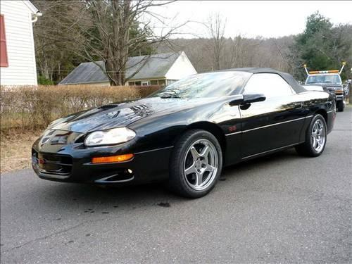 2002 chevrolet camaro ss convertible 2k miles for sale in ansonia connecticut classified. Black Bedroom Furniture Sets. Home Design Ideas