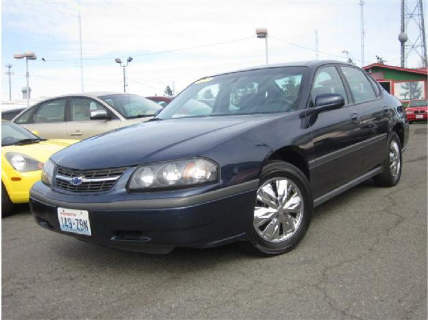2002 chevrolet impala sedan 4d for sale in lynnwood washington classified. Black Bedroom Furniture Sets. Home Design Ideas