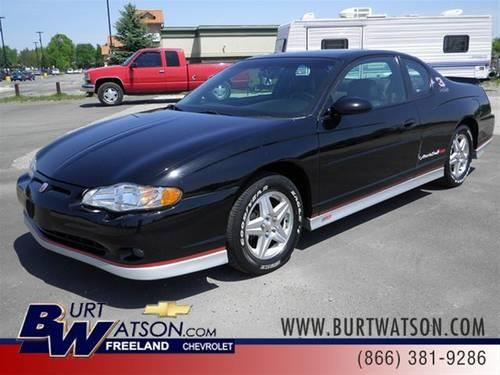 2002 chevrolet monte carlo coupe ss for sale in freeland. Black Bedroom Furniture Sets. Home Design Ideas