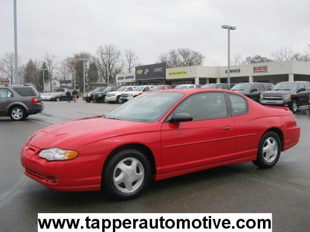 2002 chevrolet monte carlo ss for sale in paw paw. Black Bedroom Furniture Sets. Home Design Ideas