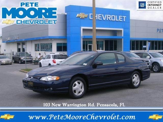 2002 chevrolet monte carlo ss for sale in pensacola florida classified. Black Bedroom Furniture Sets. Home Design Ideas