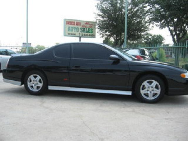 2002 chevrolet monte carlo ss for sale in houston texas. Black Bedroom Furniture Sets. Home Design Ideas