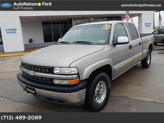 2002 chevrolet silverado 1500hd for sale in houston texas classified. Black Bedroom Furniture Sets. Home Design Ideas