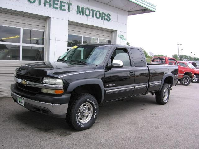 2002 Chevrolet Silverado 2500 Ls H D Extended Cab For Sale