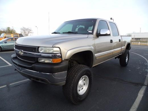 2002 chevrolet silverado 2500hd base 4dr crew cab 4wd lb. Black Bedroom Furniture Sets. Home Design Ideas