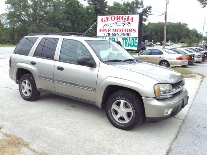 2002 chevrolet trailblazer 4dr 2wd ls for sale in loganville georgia classified. Black Bedroom Furniture Sets. Home Design Ideas