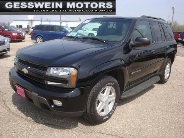 Used Cars Sioux Falls >> 2002 Chevrolet TrailBlazer LTZ for Sale in Milbank, South ...