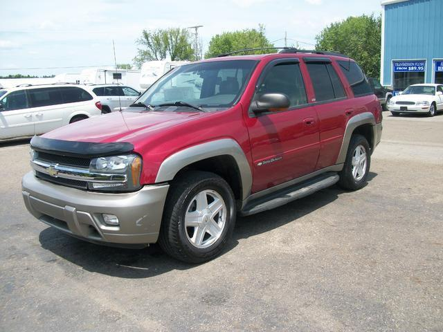 2002 chevrolet trailblazer ltz for sale in east palestine ohio classified. Black Bedroom Furniture Sets. Home Design Ideas