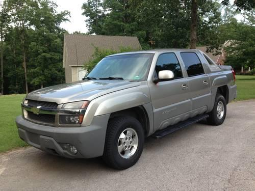 2002 chevy avalanche 1500 under 100k miles for sale in rogers arkansas classified. Black Bedroom Furniture Sets. Home Design Ideas