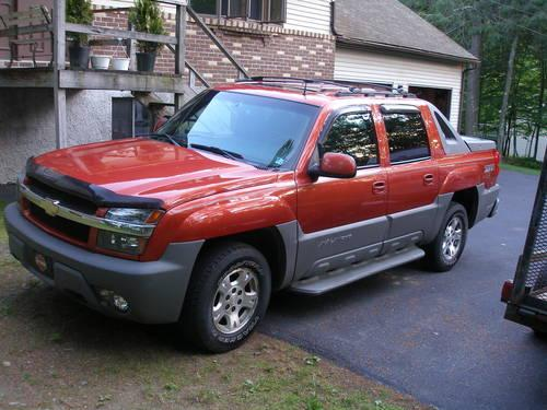 2002 chevy avalanche z71 for sale in milford pennsylvania classified. Black Bedroom Furniture Sets. Home Design Ideas