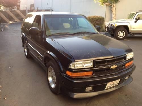 2002 chevy blazer extreme for sale in placentia california classified. Black Bedroom Furniture Sets. Home Design Ideas
