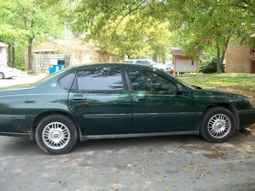 2002 chevy impala hunter green for sale in gadsden alabama classified. Black Bedroom Furniture Sets. Home Design Ideas