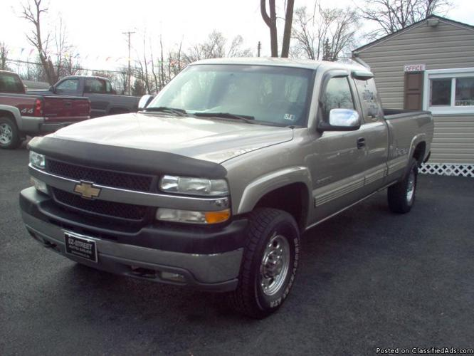 2002 chevy silverado 2500 hd ls for sale in duncansville pennsylvania classified. Black Bedroom Furniture Sets. Home Design Ideas