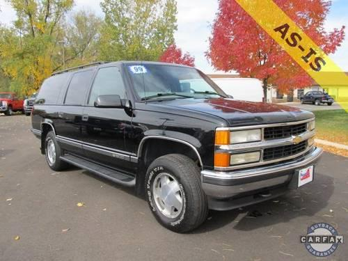 2002 chevy suburban for sale in milwaukee wisconsin classified. Black Bedroom Furniture Sets. Home Design Ideas