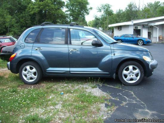 2002 chrysler pt cruiser touring edition for sale in dry fork kentucky classified. Black Bedroom Furniture Sets. Home Design Ideas
