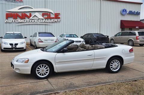 2002 chrysler sebring convertible lxi convertible 2d for. Black Bedroom Furniture Sets. Home Design Ideas