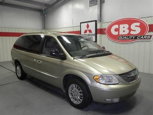 2002 chrysler town country minivan limited for sale in durham north carolina classified. Black Bedroom Furniture Sets. Home Design Ideas