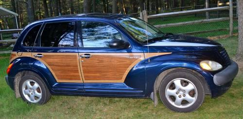 2002 Chrysler Woody PT Cruiser Dark Blue Touring